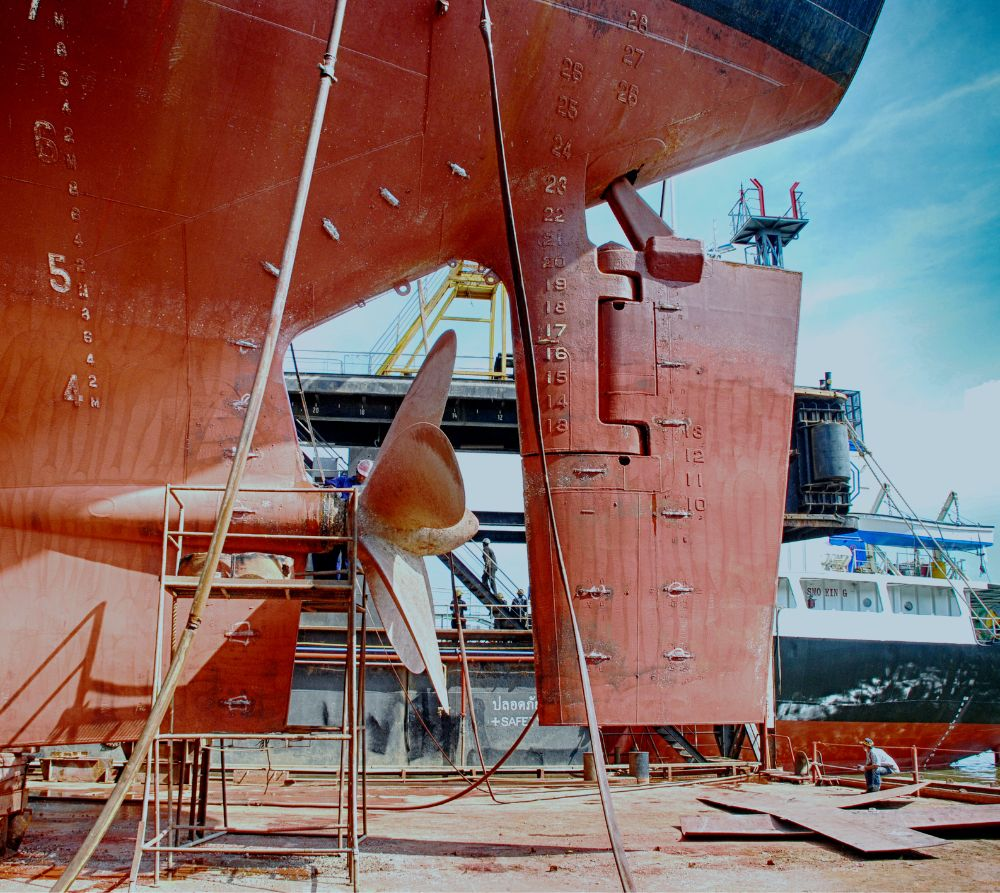 Dry-docking and Projects